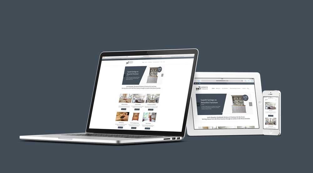 Luxury Bespoke Kitchen Website