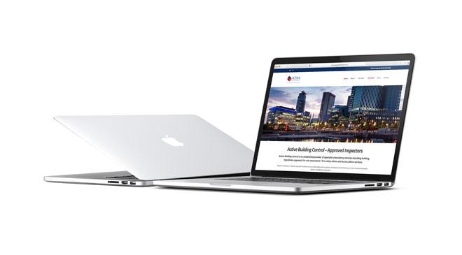 Brochure Website Design Example