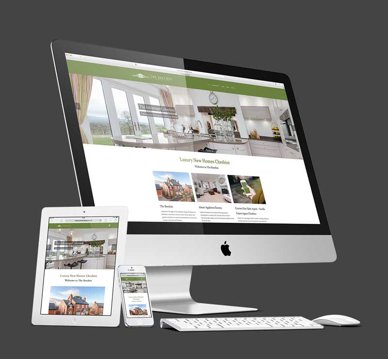 Luxury Homes Wordpress Design