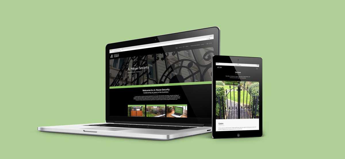 Home Security Website Header