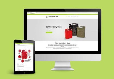 Jerry Can Responsive Website