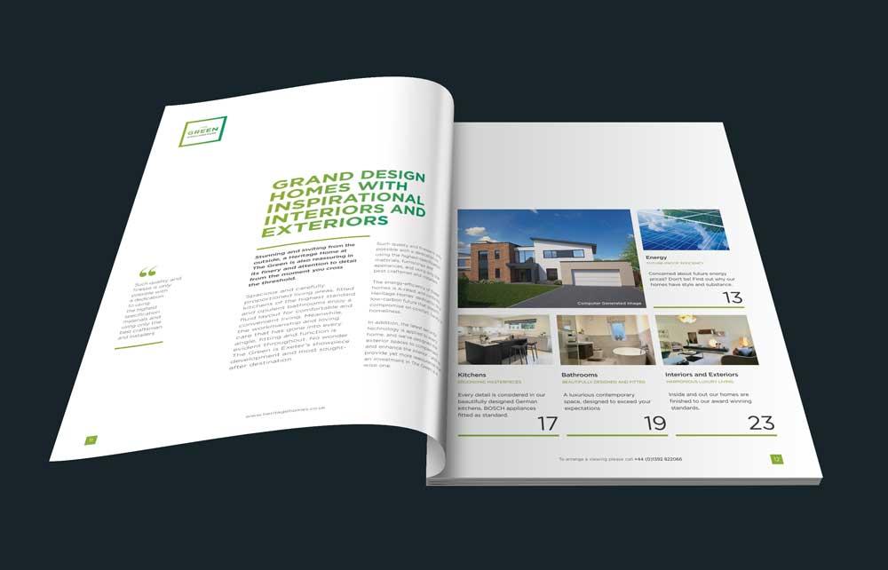 Property Brochure Design Cornwall